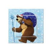 Выключатель VIKO KARRE Kids Медведь с подарком (90962704)