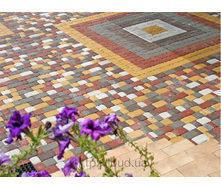Тротуарная плитка Старый Город серая