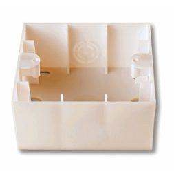 Короб для зовнішнього монтажу  VIKO MERIDIAN кремовий