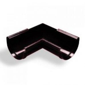 Кут жолоба зовнішній Wavin Kanion 75х160 мм 135 градусів чорний