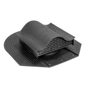 Кровельный вентиль VILPE HUOPA-KTV 450х378 мм черный