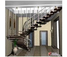 Гранитная лестница на больцах
