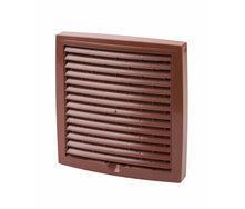 Наружная вентиляционная решетка Vilpe 375*375 мм красная