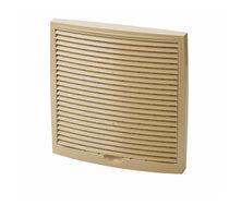Наружная вентиляционная решетка Vilpe 375*375 мм бежевая