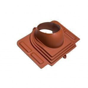 Прохідний елемент VILPE PELTI для труб діаметр 110-160 мм під металочерепицю цегляний
