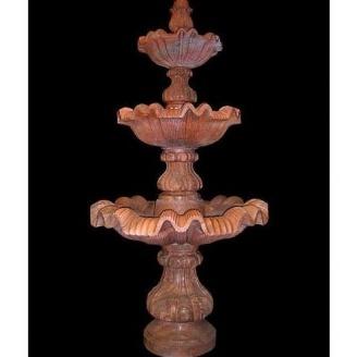 Мраморный декоративный фонтан для сада
