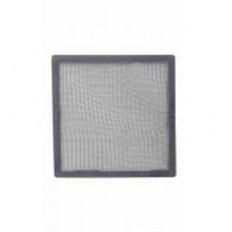 Сетка наружной вентиляционной решетки Vilpe 240*240 мм серая