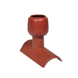 Коньковый вентиль VILPE H-T ALIPAI 300 мм красный