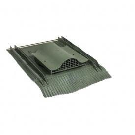 Кровельный вентиль VILPE UNIVERSAL-KTV 532х400 мм зеленый
