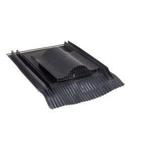Покрівельний вентиль VILPE UNIVERSAL-KTV з адаптером 532х400 мм чорний