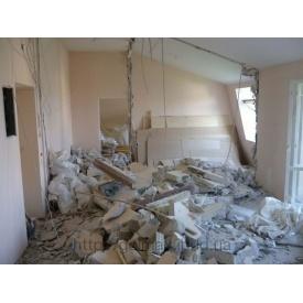 Демонтаж бетонних перегородок до 7 см