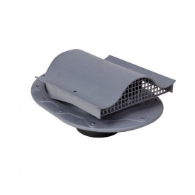 Кровельный вентиль VILPE CLASSIC-KTV 351х266 мм серый