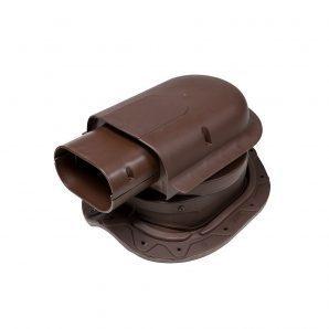 Прохідний елемент VILPE SOLAR CLASSIC 351х266 мм коричневий