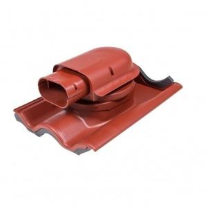 Прохідний елемент VILPE SOLAR TIILI 440х330 мм червоний