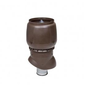 Вентиляционный выход VILPE XL-200/ИЗ/500 200х500 мм коричневый