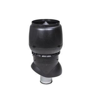 Вентиляційний вихід VILPE XL-250/ІЗ/500 250х500 мм чорний