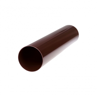 Труба водосточная Profil 75 мм 4 м коричневая
