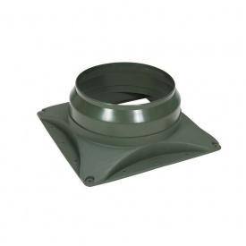 Основание вентилятора VILPE E220 S 300х300 мм зеленое