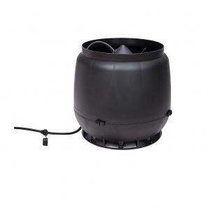 Вентилятор VILPE E310 S 200 мм чорний