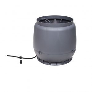 Вентилятор VILPE E250 S 200 мм серый