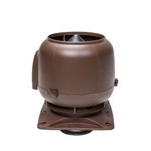 Вентиляционный выход VILPE S-125 125 мм коричневый