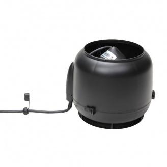 Вентилятор VILPE E120 S 125 мм чорний