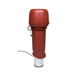 Вентилятор VILPE E220 P 160х700 мм красный