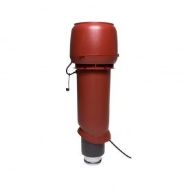Вентилятор VILPE E190 P 125х700 мм красный