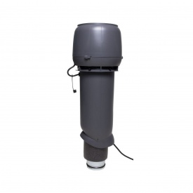 Вентилятор VILPE E190 P 125х700 мм серый