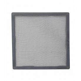 Сетка наружной вентиляционной решетки VILPE 150х150 мм серая