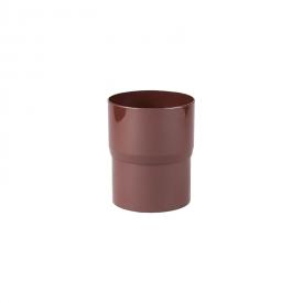 З'єднувач труби Profil 100 мм коричневий