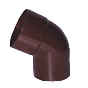 Коліно 90° Profil 75 мм коричневе
