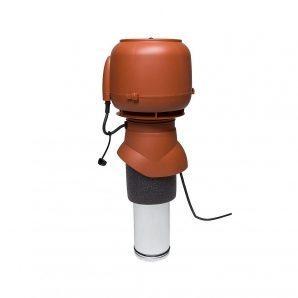 Вентилятор VILPE E120 P 125х400 мм цегляний