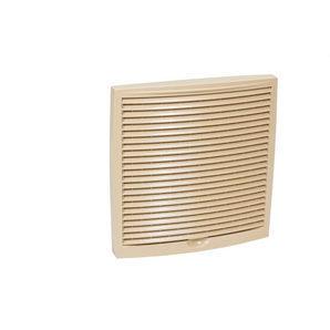 Наружная вентиляционная решетка VILPE 240х240 мм бежевая
