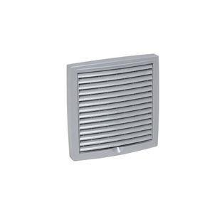 Наружная вентиляционная решетка VILPE 150х150 мм светло-серая