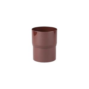 Соединитель трубы Profil 75 мм коричневый