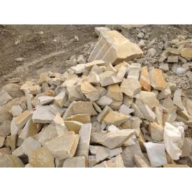 Бутовий камінь з пісковика Русавського родовища M100 F25