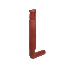 Цокольный дефлектор VILPE ROSS 200 мм красный