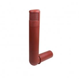 Цокольний дефлектор VILPE ROSS 160 мм червоний