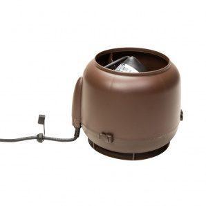 Вентилятор VILPE ECo110S 160 мм коричневий