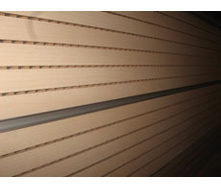 Перфорована шпонована панель з MDF Decor Acoustic 29/3 2400*576*17 мм клен