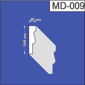 Молдинг з пінополістиролу Валькірія 40х160 мм (MD 009)