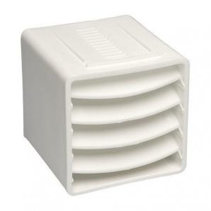 Вентиляційний куб VILPE 85х85х85 мм білий