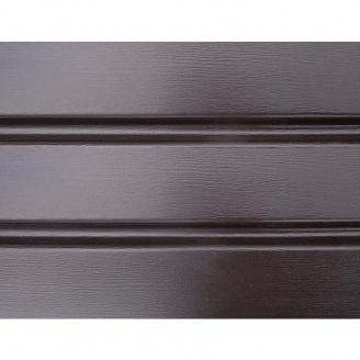 Софит ASKO без перфорации 3,5 м коричневая