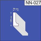 Наличник из пенополистирола Валькирия 50х120 мм (NN 027)