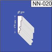 Наличник з пінополістиролу Валькірія 45х175 мм (NN 020)