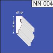 Наличник з пінополістиролу Валькірія 40х140 мм (NN 004)