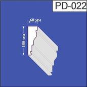 Підвіконня з пінополістиролу Валькірія 60х180 мм (PD 022)
