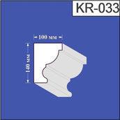 Карниз из пенополистирола Валькирия 100х140 мм (KR 033)