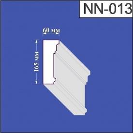 Наличник из пенополистирола Валькирия 60х165 мм (NN 013)